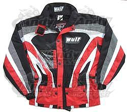 Wulf bunda RAID červená - 1
