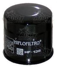 HiFlo olejové filtry Suzuki, LTA450/700/750 King Quad