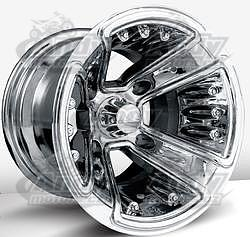 Motosport Alloys  S1 chrome, 10x8 4/110