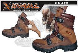 Kamval ATV boty hnědé AKCE !!!