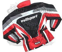 Wulf bunda RAID červená - 2
