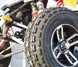 Motosport Alloys  S3 Redline, 10x8 4/110 - 4