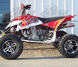 Motosport Alloys  S3 Redline, 10x8 4/110 - 5